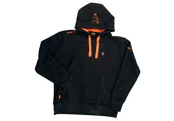 Fox Black and Orange Hoody