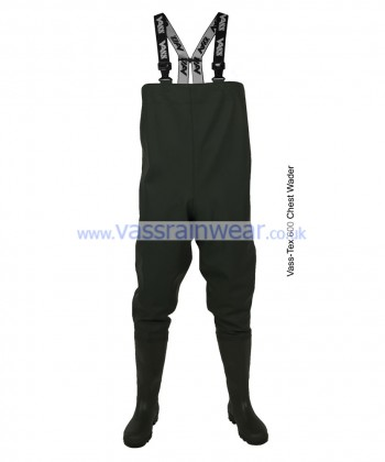 Vass Tex 600 Series PVC Chest Waders