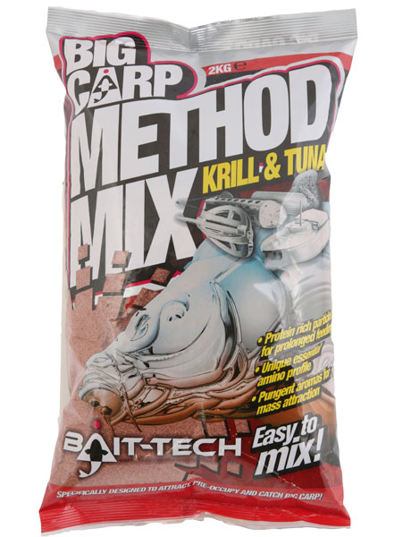 Bait Tech Big Carp Krill and Tuna Method Mix