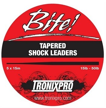 Tronixpro Bite Tapered Shock Leader