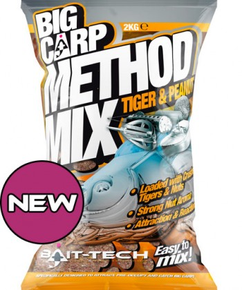 Bait Tech Big Carp Tiger and Peanut Method Mix