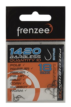 Frenzee 1420 Barbless Hooks