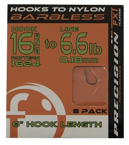 "Frenzee 6"" Hooks to Nylon"