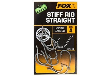 Fox Edges Armapoint Stiff Rig Straight Hooks
