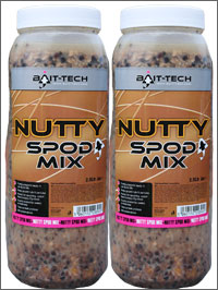 Bait Tech Nutty Spod Mix