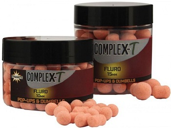 Dynamite Baits Complex T Fluro Pop Ups and Dumbells