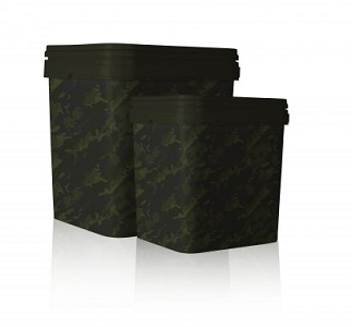 Nash Camouflaged Rectangular Bait Bucket