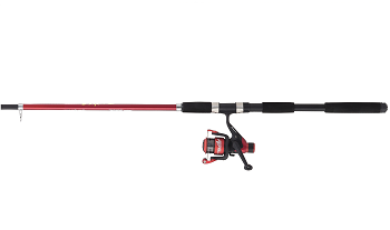 Shakespeare Firebird Telescopic Spinning Rod Combo