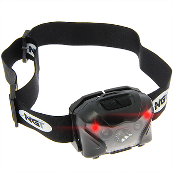 NGT USB Rechargeable XPR Cree Headtorch